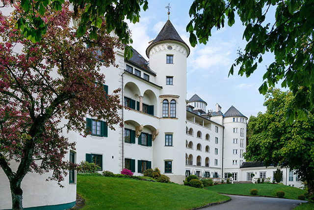 Wir erhalten Unterstützung vom Romantik Hotel Schloss Pichlarn